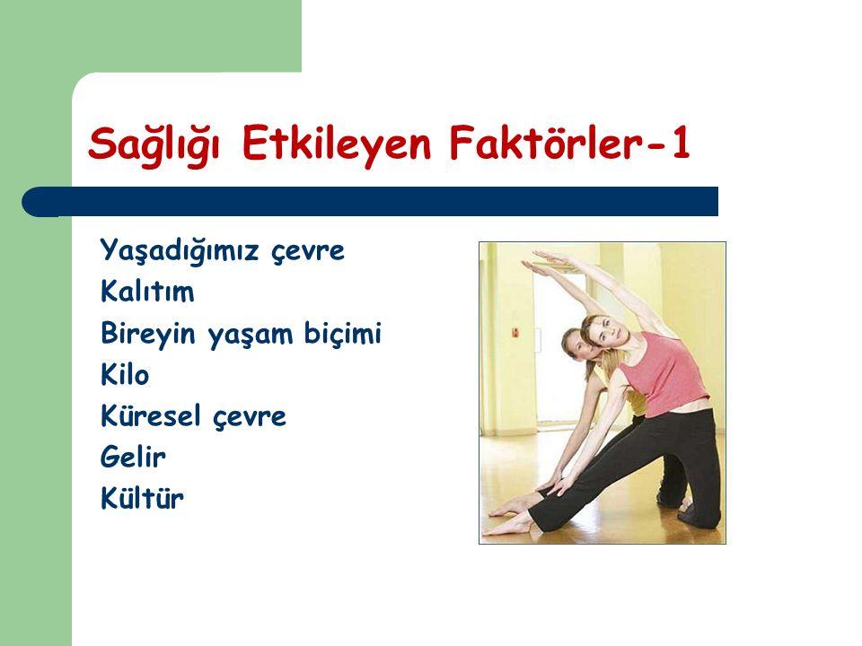Sağlığı Etkileyen Faktörler-1