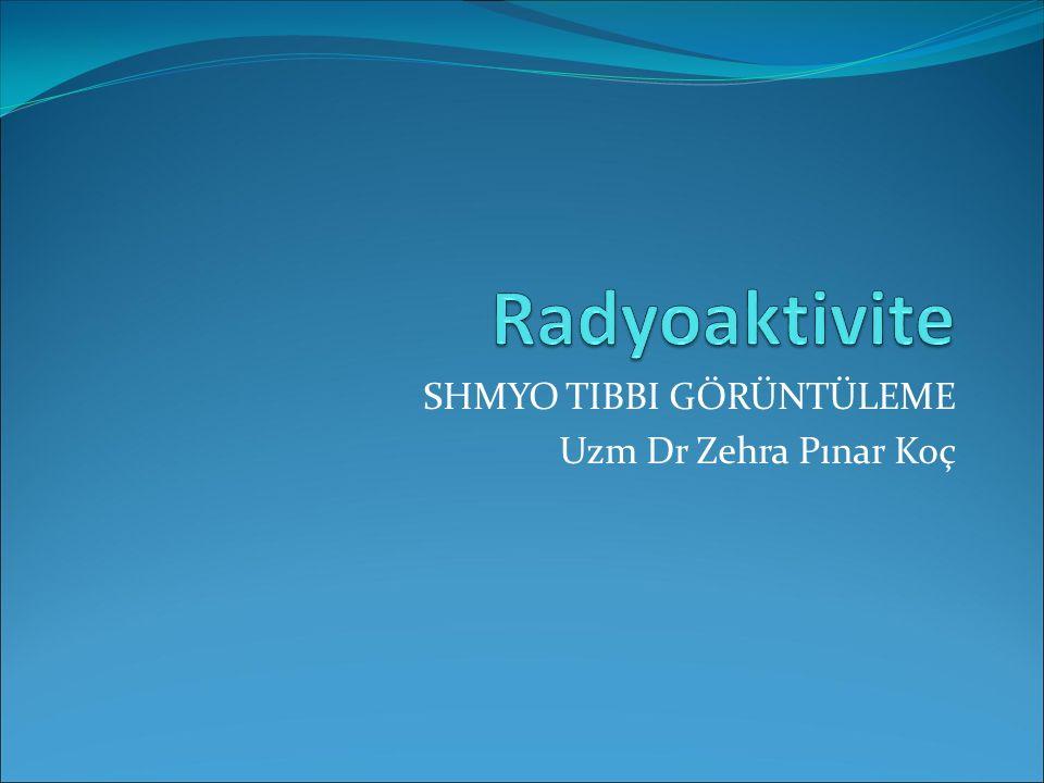 SHMYO TIBBI GÖRÜNTÜLEME Uzm Dr Zehra Pınar Koç