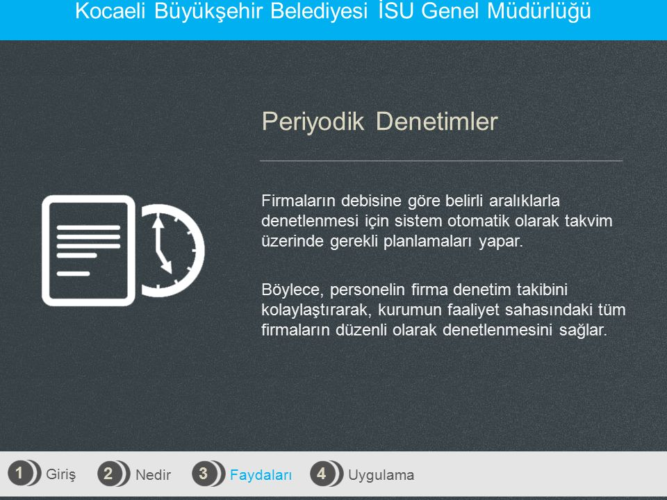 Kocaeli Büyükşehir Belediyesi İSU Genel Müdürlüğü