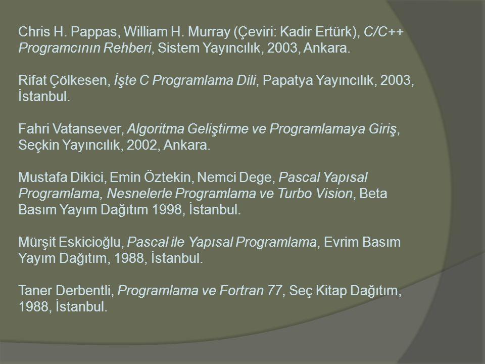 Chris H. Pappas, William H