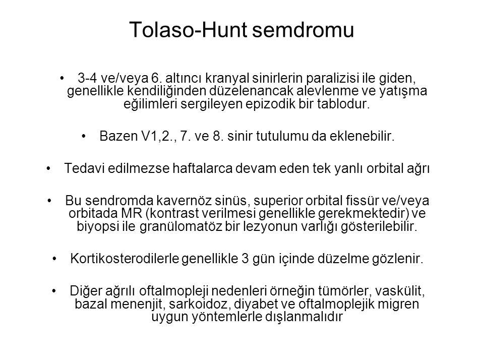Tolaso-Hunt semdromu