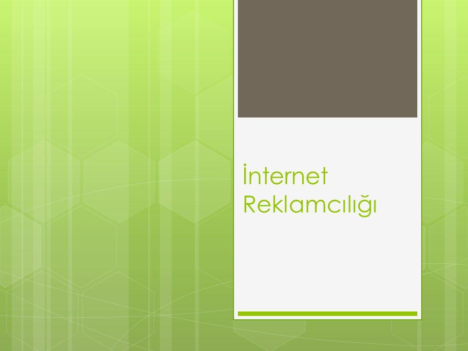 İnternet Reklamcılığı