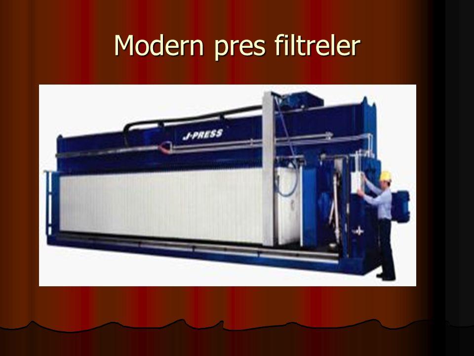 Modern pres filtreler
