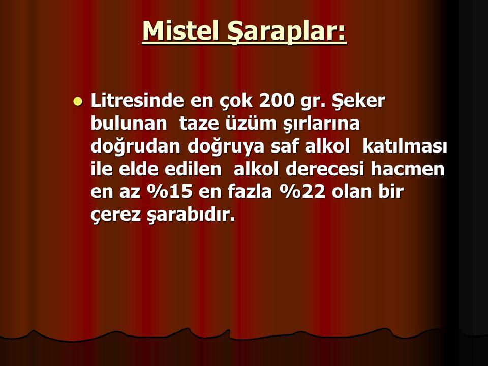 Mistel Şaraplar: