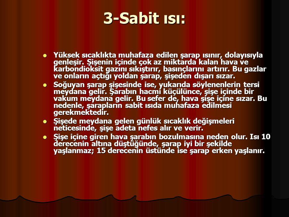 3-Sabit ısı: