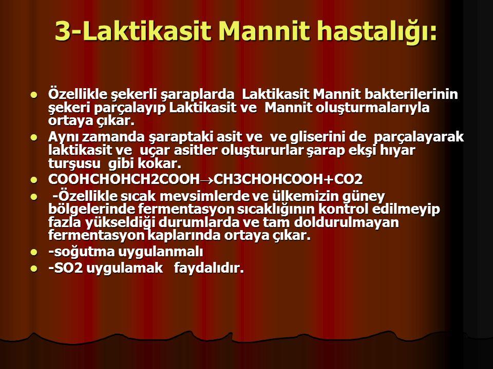 3-Laktikasit Mannit hastalığı: