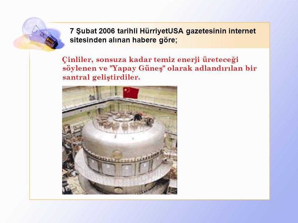 7 Şubat 2006 tarihli HürriyetUSA gazetesinin internet sitesinden alınan habere göre;