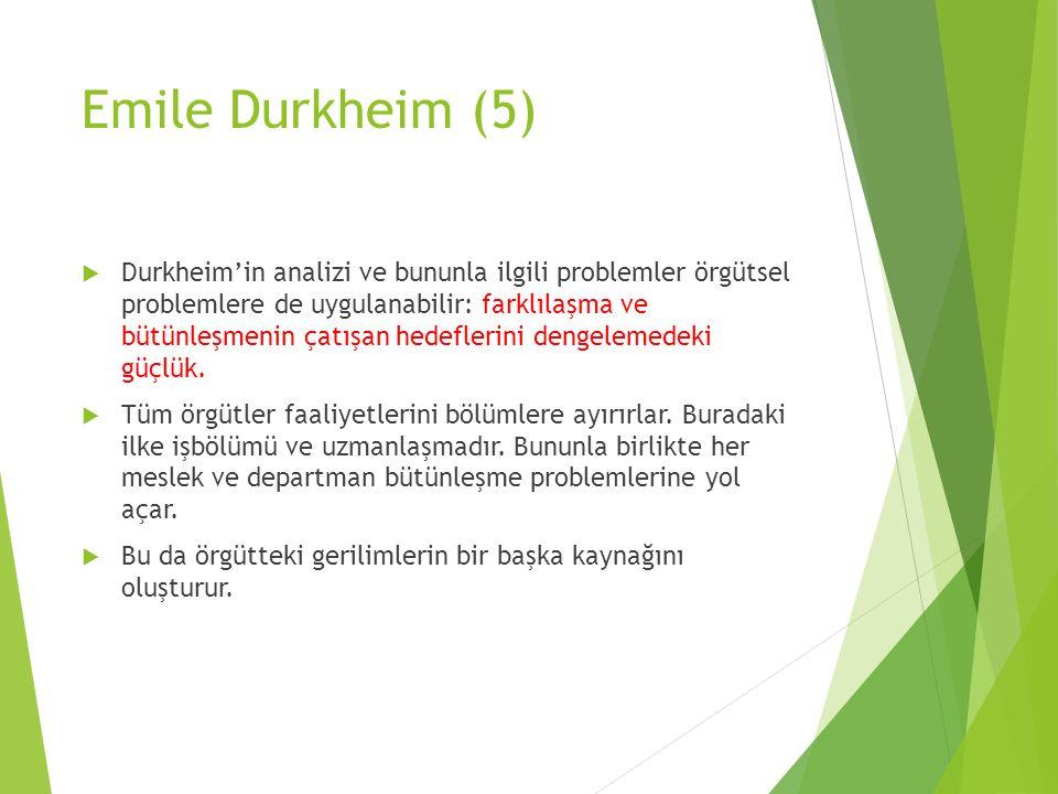 Emile Durkheim (5)