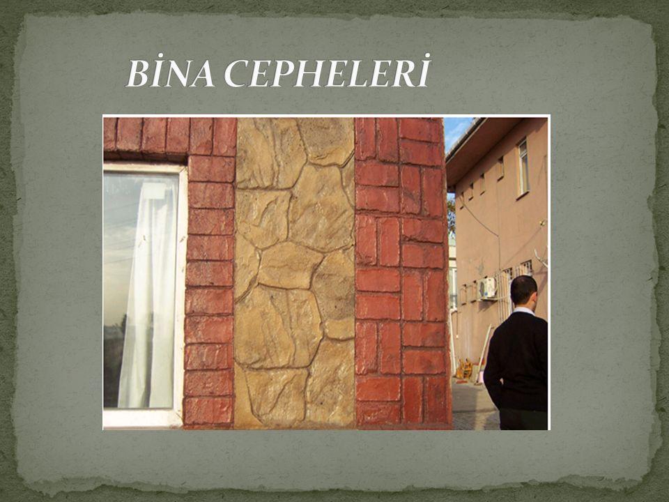 BİNA CEPHELERİ