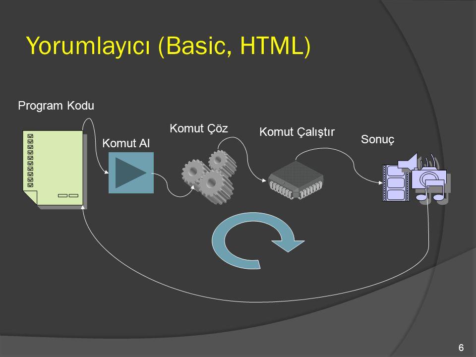 Yorumlayıcı (Basic, HTML)