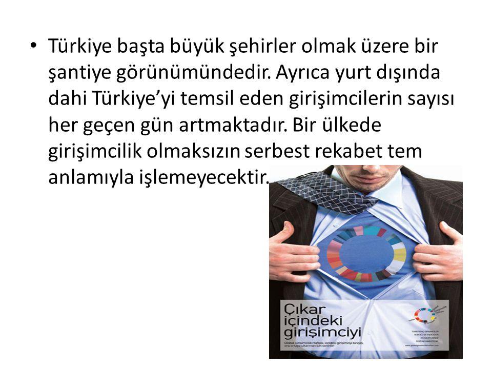 Türkiye başta büyük şehirler olmak üzere bir şantiye görünümündedir