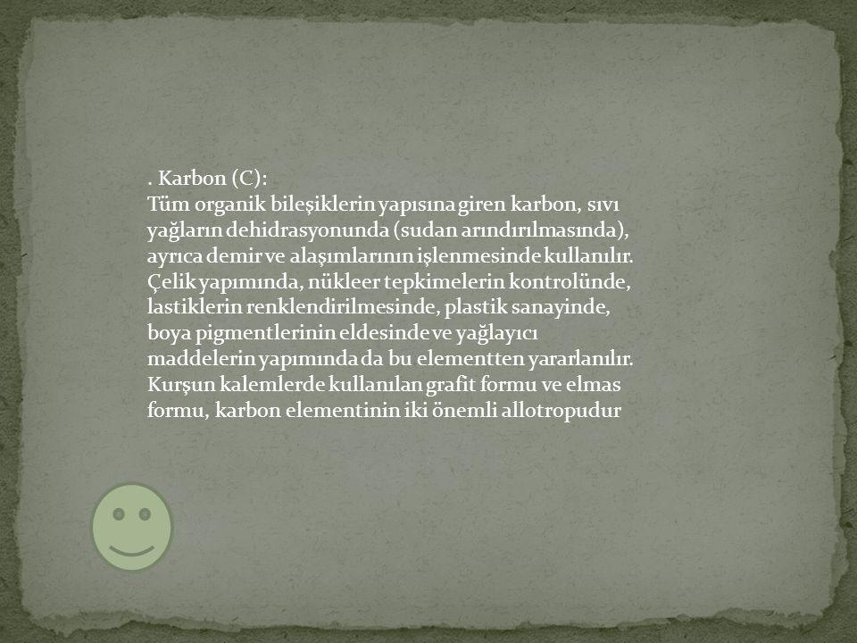. Karbon (C):