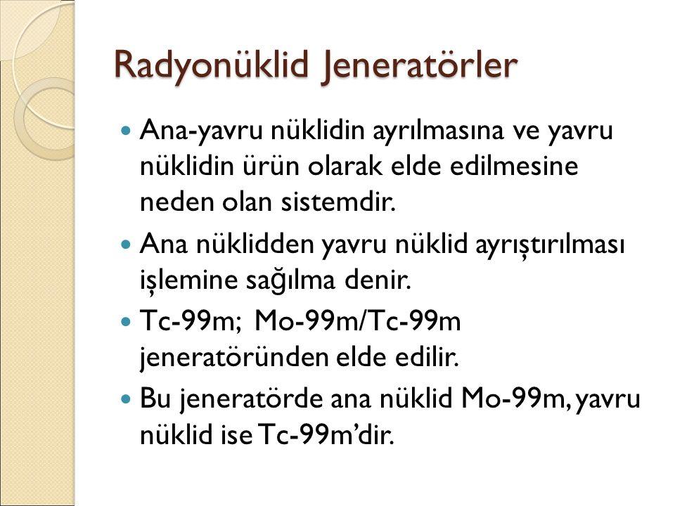 Radyonüklid Jeneratörler