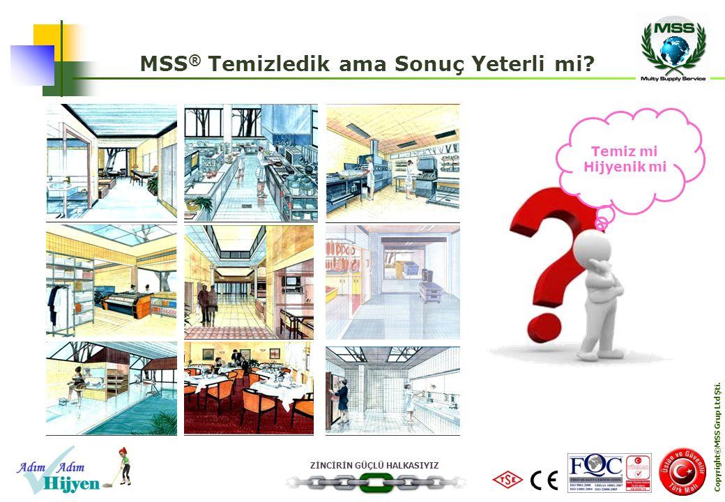 MSS® Temizledik ama Sonuç Yeterli mi Copyright©MSS Grup Ltd Şti.