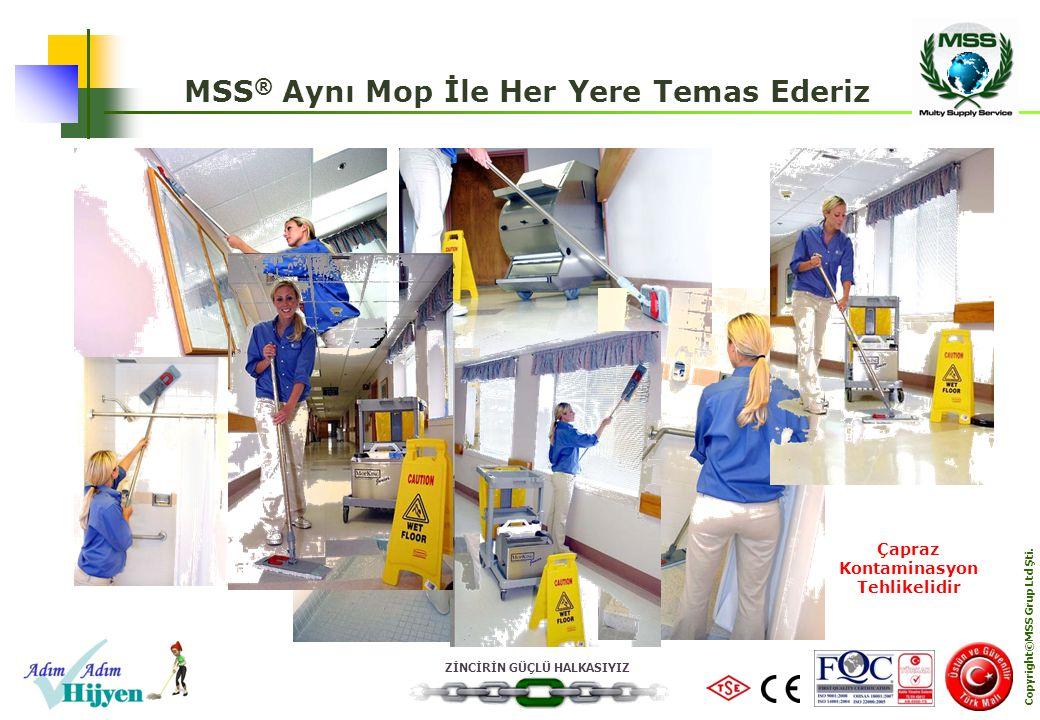 MSS® Aynı Mop İle Her Yere Temas Ederiz