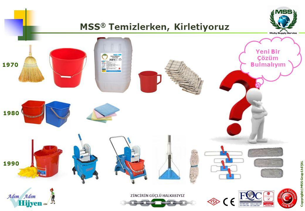MSS® Temizlerken, Kirletiyoruz