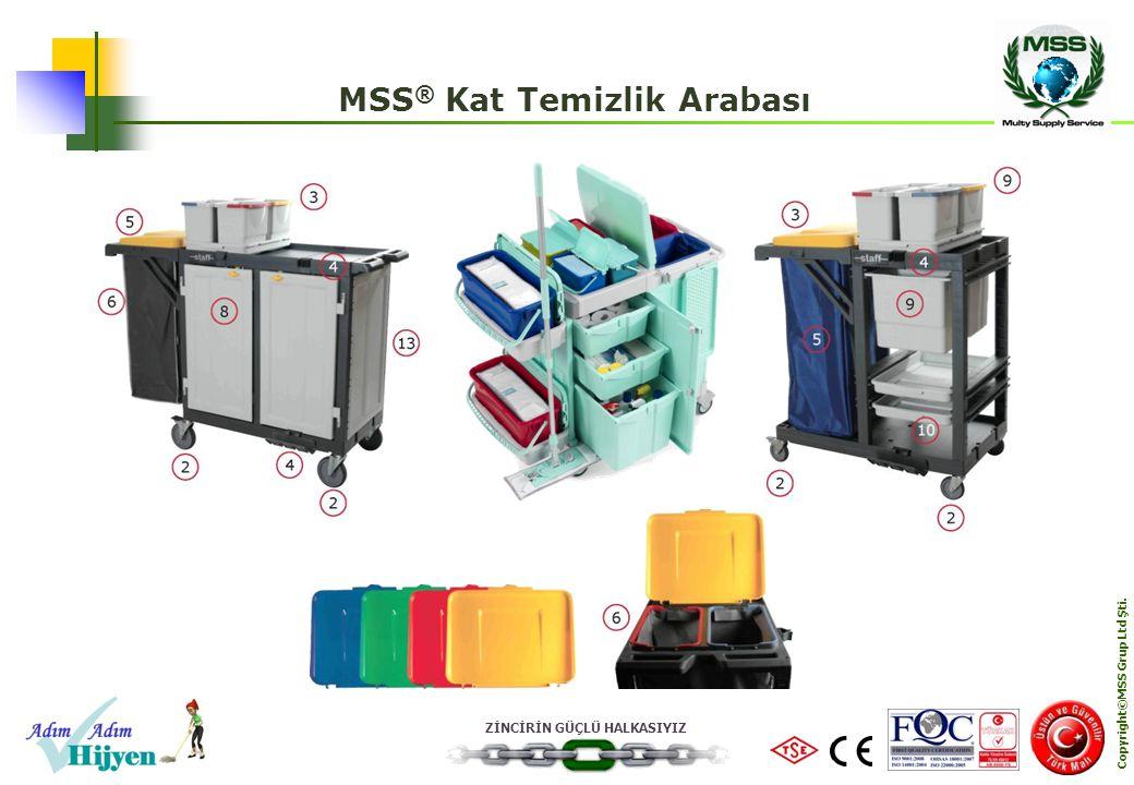 MSS® Kat Temizlik Arabası Copyright©MSS Grup Ltd Şti.