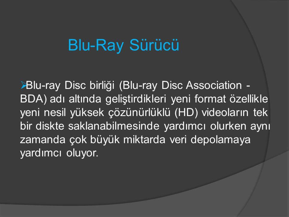 Blu-Ray Sürücü