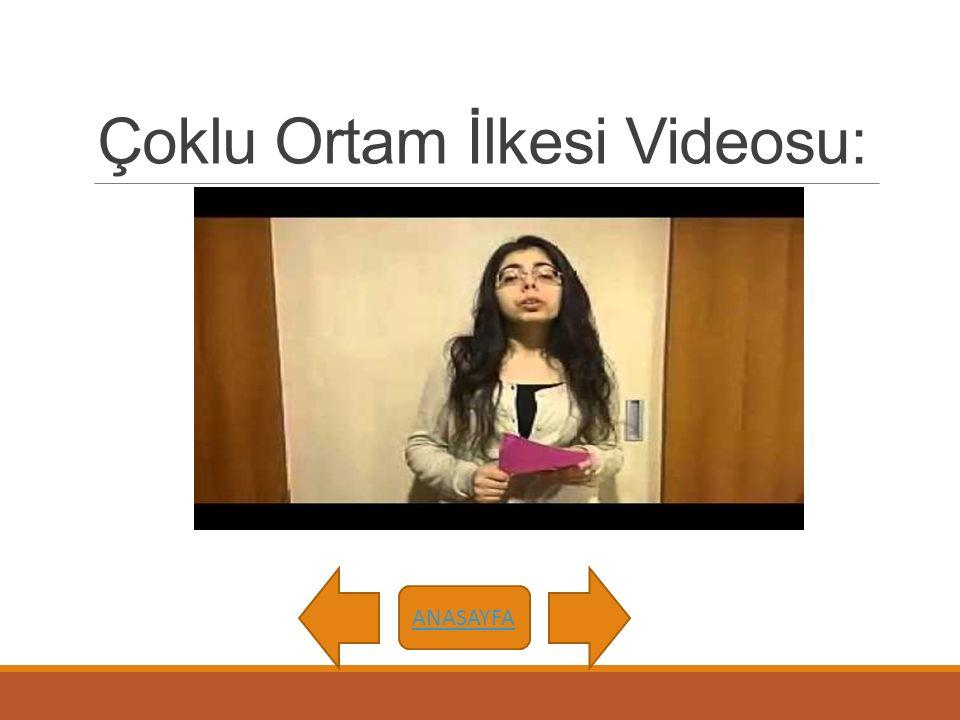Çoklu Ortam İlkesi Videosu: