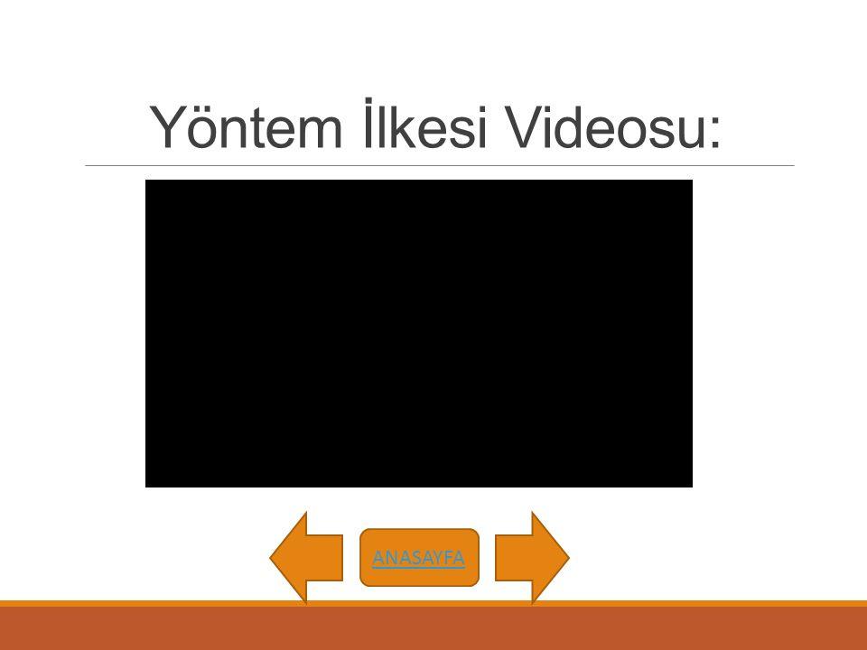 Yöntem İlkesi Videosu: