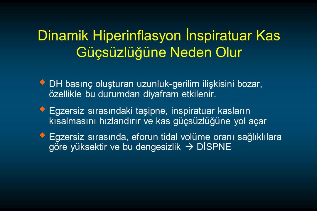 Dinamik Hiperinflasyon İnspiratuar Kas Güçsüzlüğüne Neden Olur