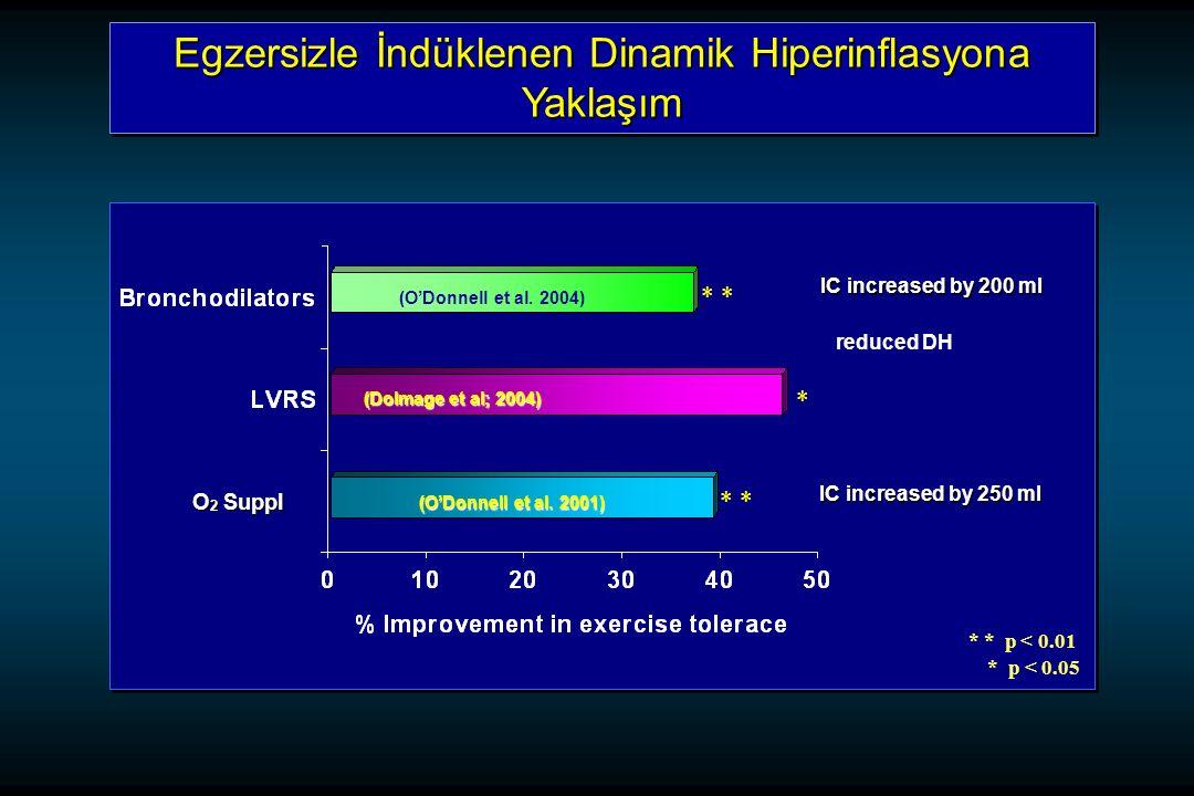 Egzersizle İndüklenen Dinamik Hiperinflasyona Yaklaşım