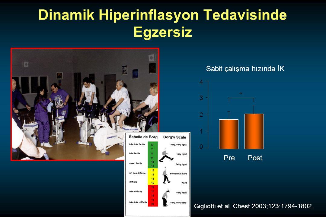 Dinamik Hiperinflasyon Tedavisinde Egzersiz