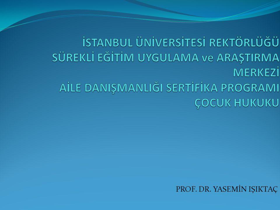 PROF. DR. YASEMİN IŞIKTAÇ