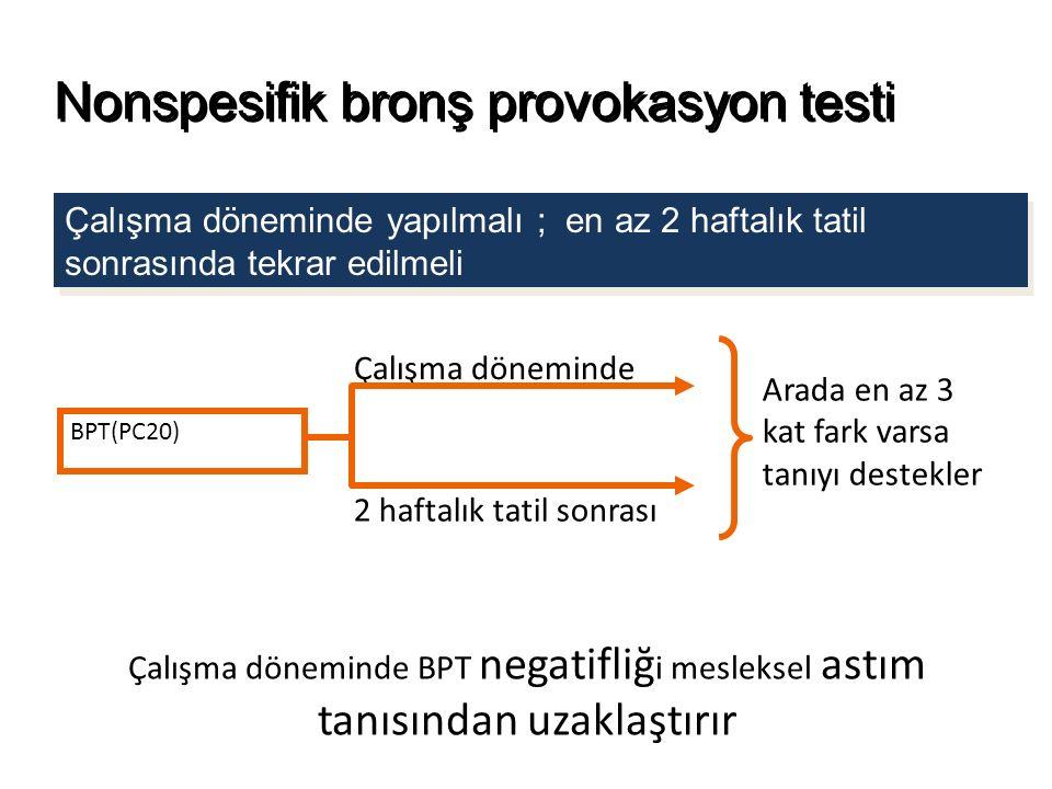 Nonspesifik bronş provokasyon testi