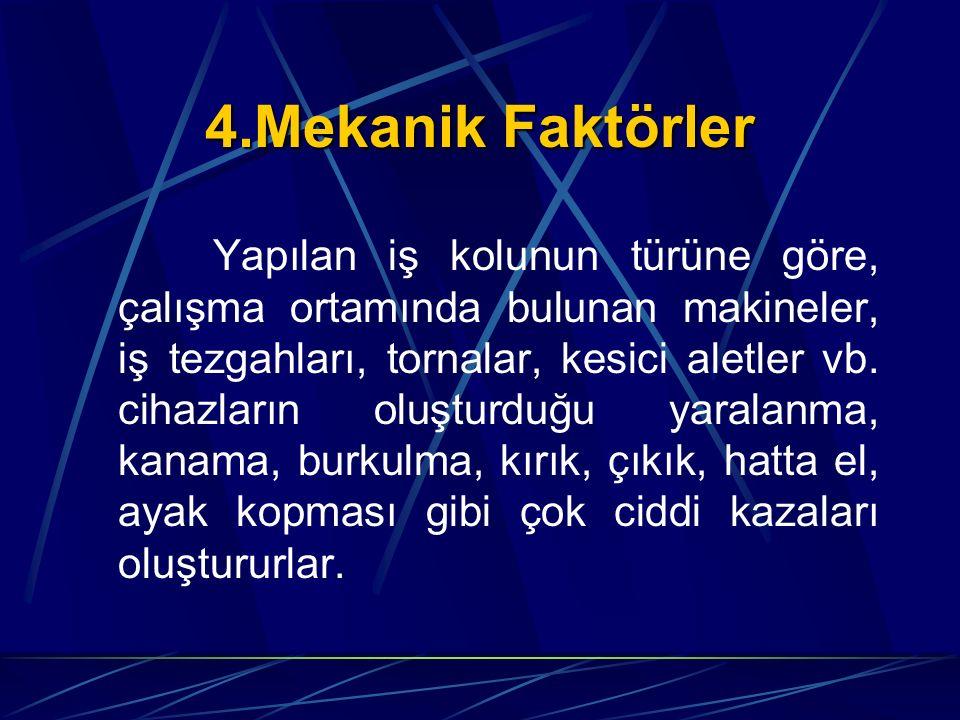 4.Mekanik Faktörler