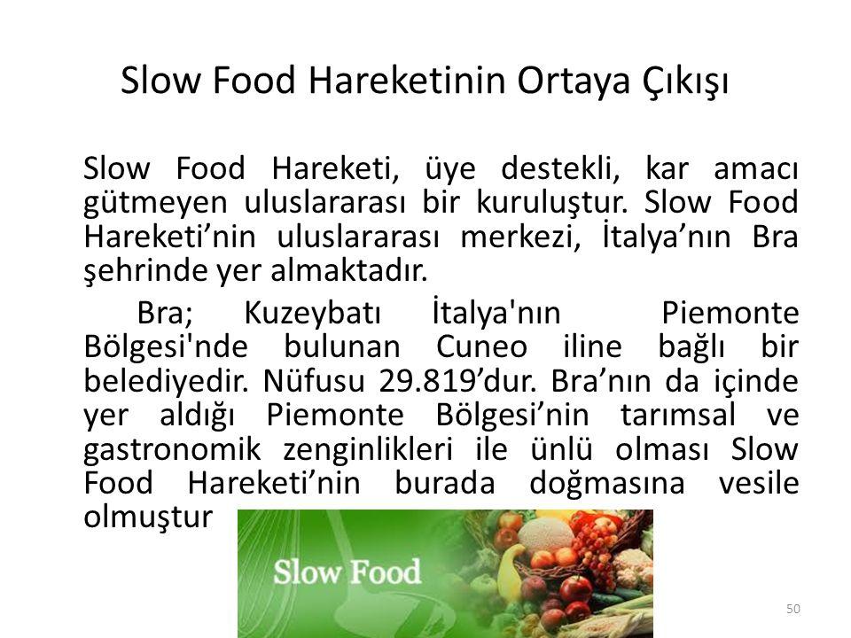 Slow Food Hareketinin Ortaya Çıkışı