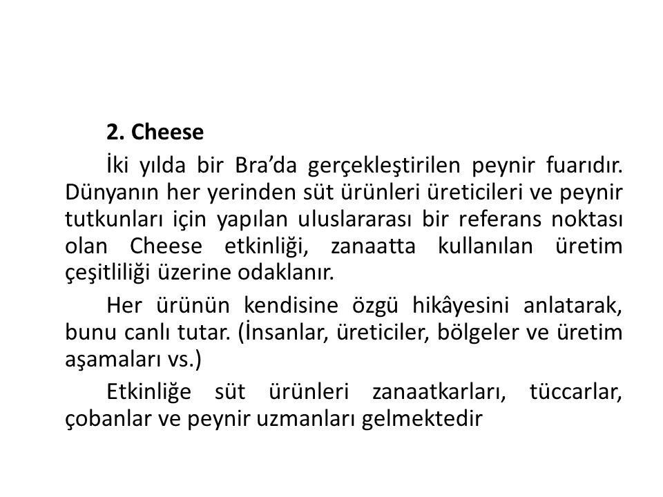 63 2. Cheese.