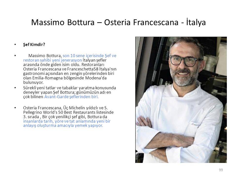 Massimo Bottura – Osteria Francescana - İtalya