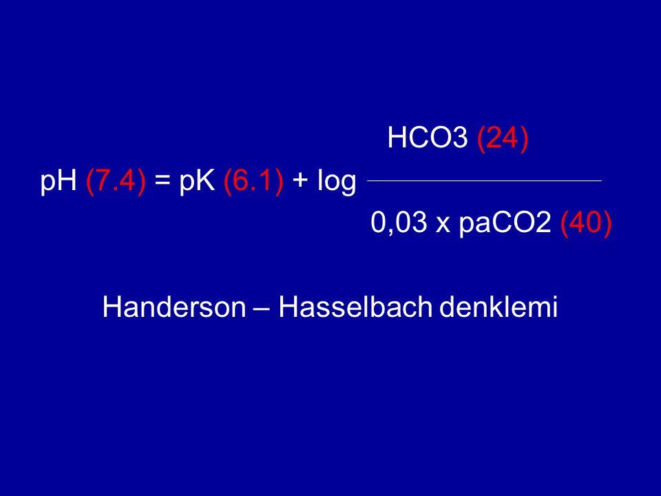 Handerson – Hasselbach denklemi