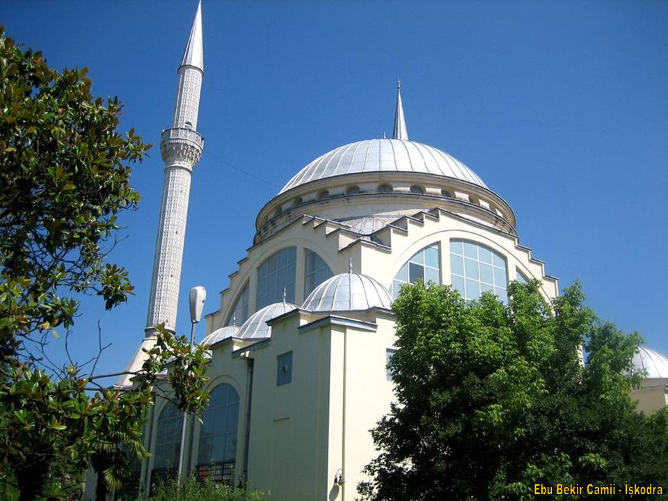 Ebu Bekir Camii - İşkodra