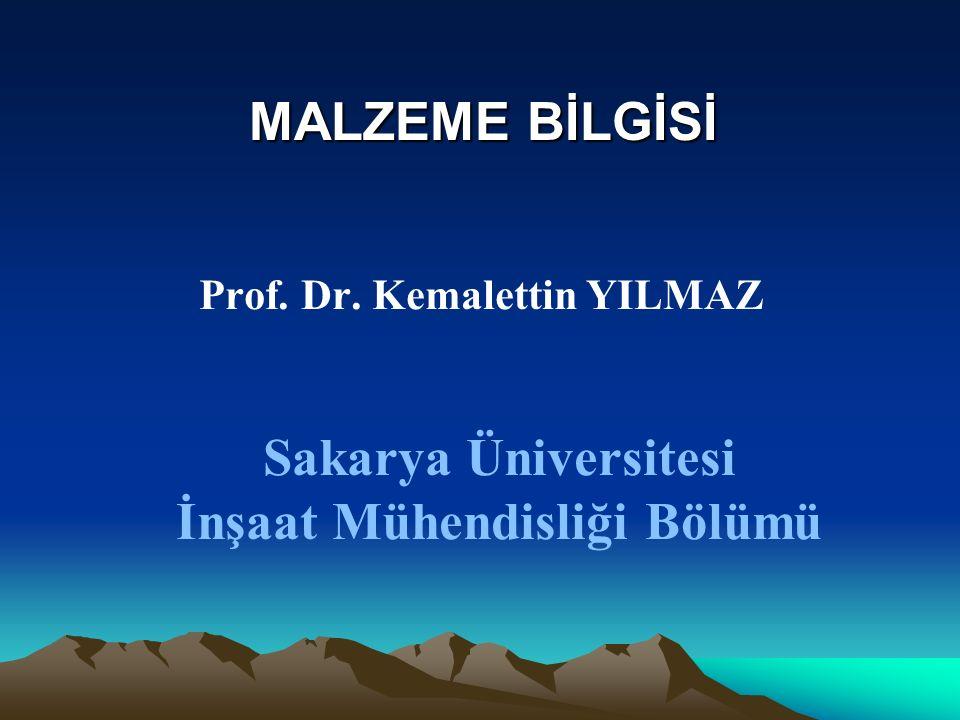 Sakarya Üniversitesi İnşaat Mühendisliği Bölümü