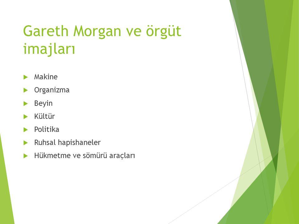 Gareth Morgan ve örgüt imajları