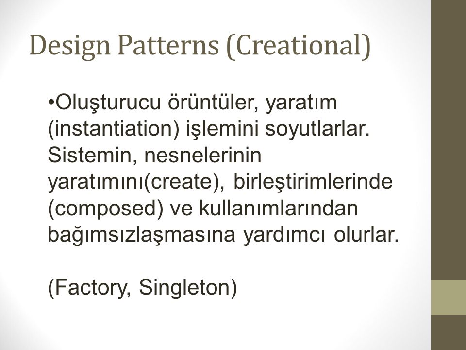 Design Patterns (Creational)