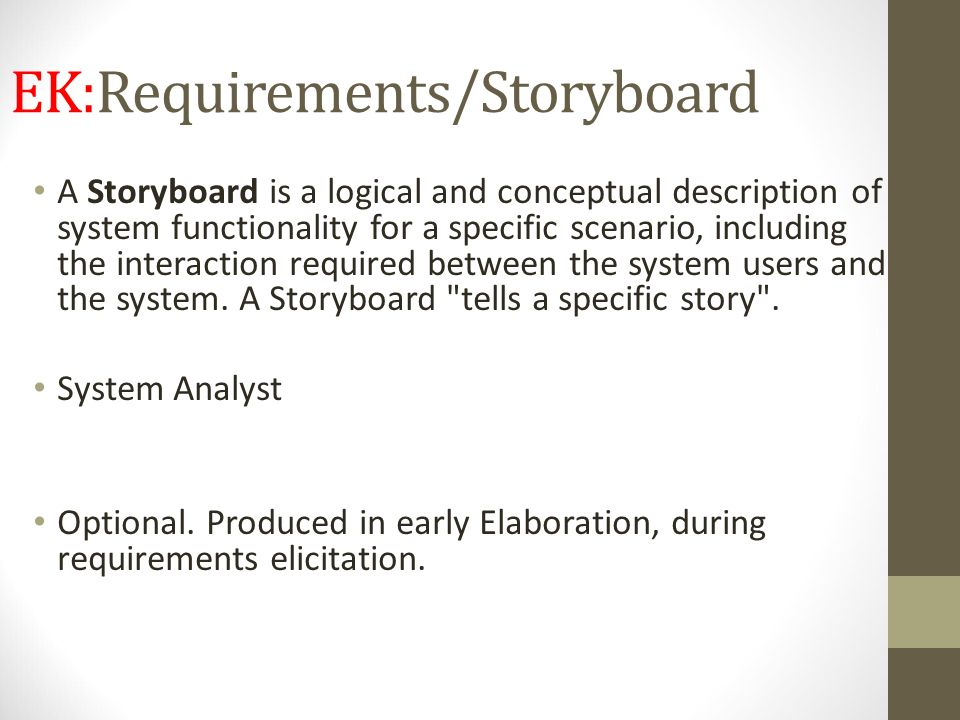 EK:Requirements/Storyboard