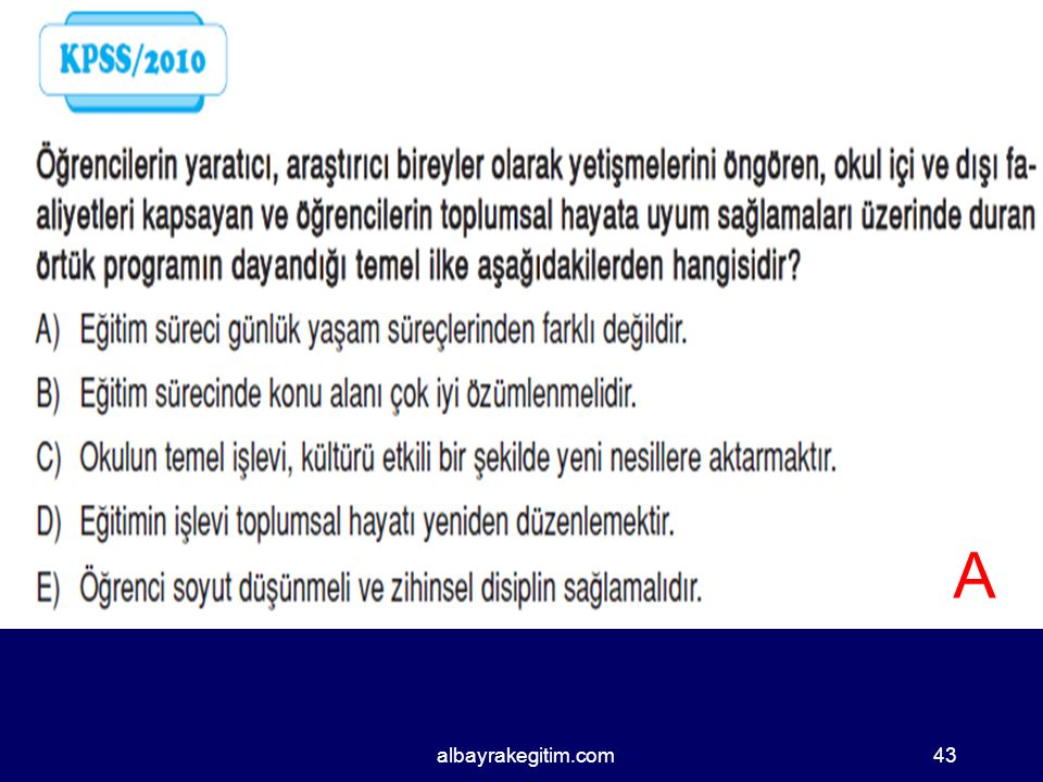 A albayrakegitim.com