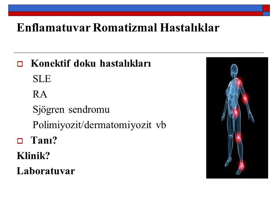 Enflamatuvar Romatizmal Hastalıklar