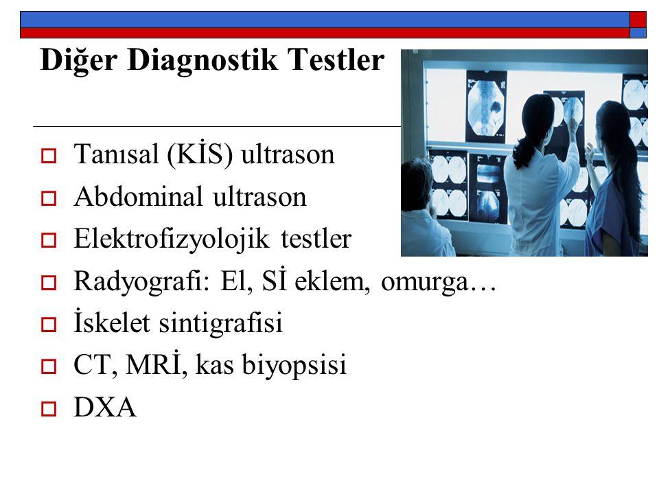 Diğer Diagnostik Testler