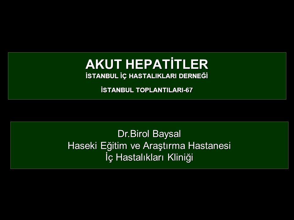 Haseki Eğitim ve Araştırma Hastanesi İç Hastalıkları Kliniği