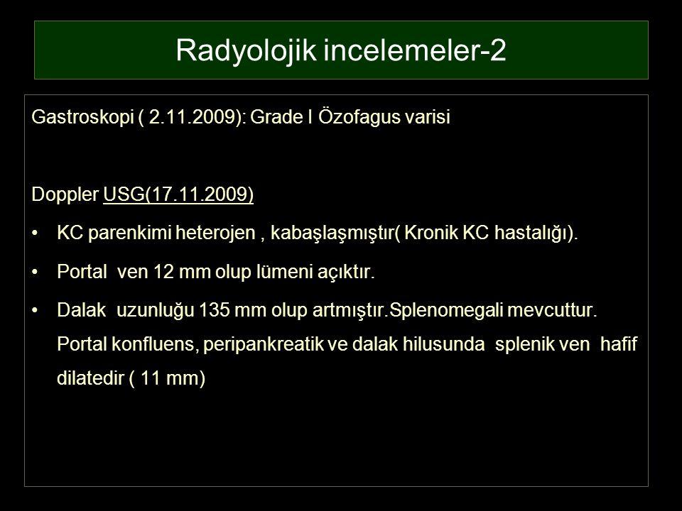 Radyolojik incelemeler-2