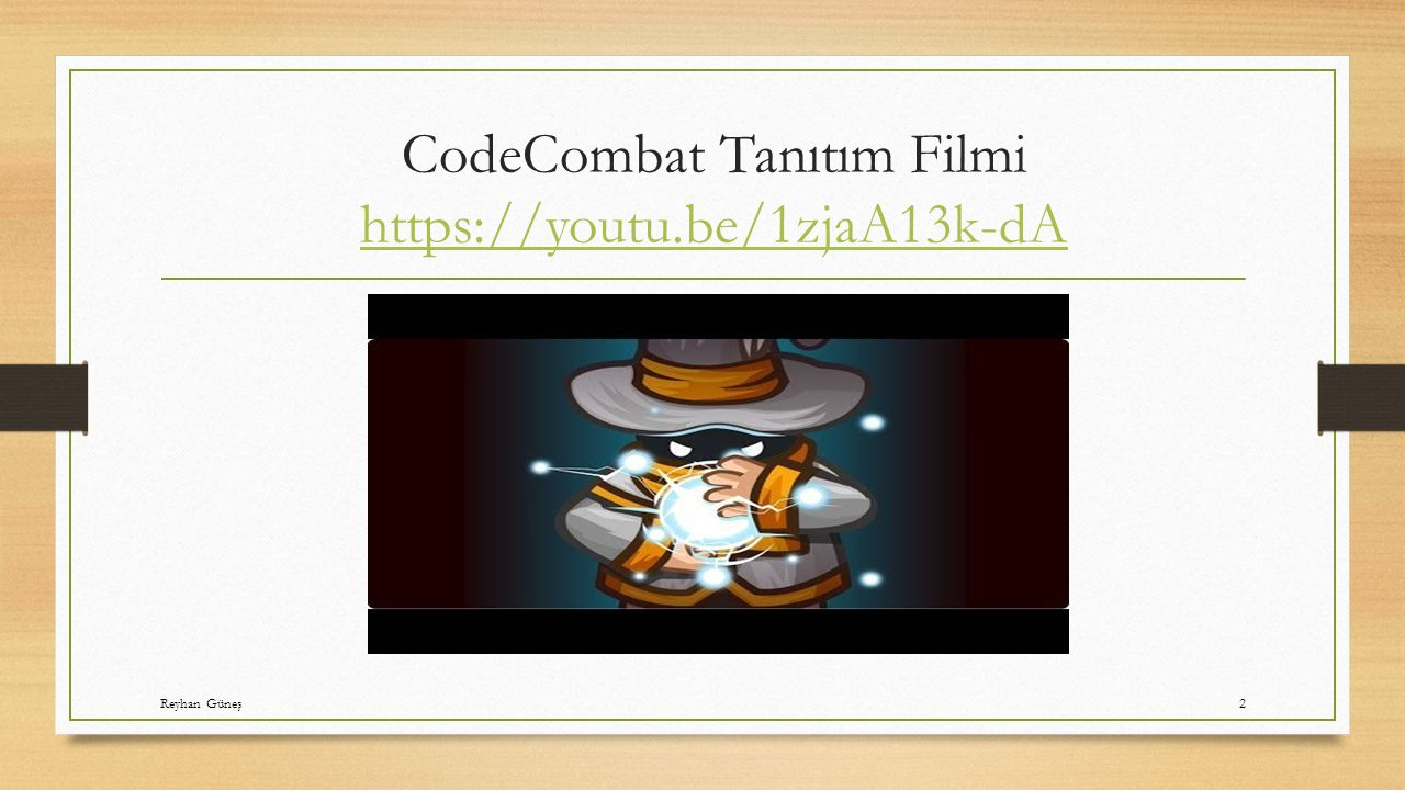 CodeCombat Tanıtım Filmi https://youtu.be/1zjaA13k-dA