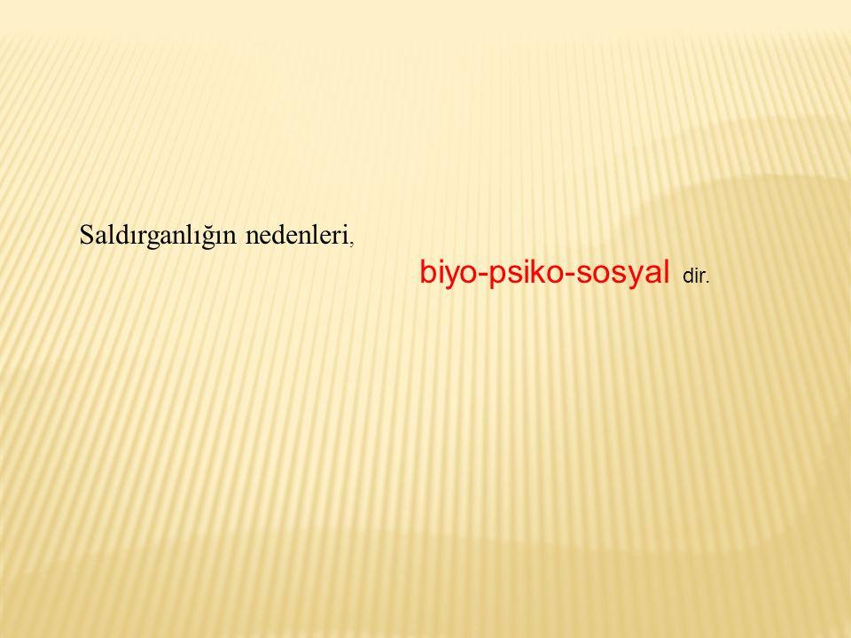 biyo-psiko-sosyal dir.