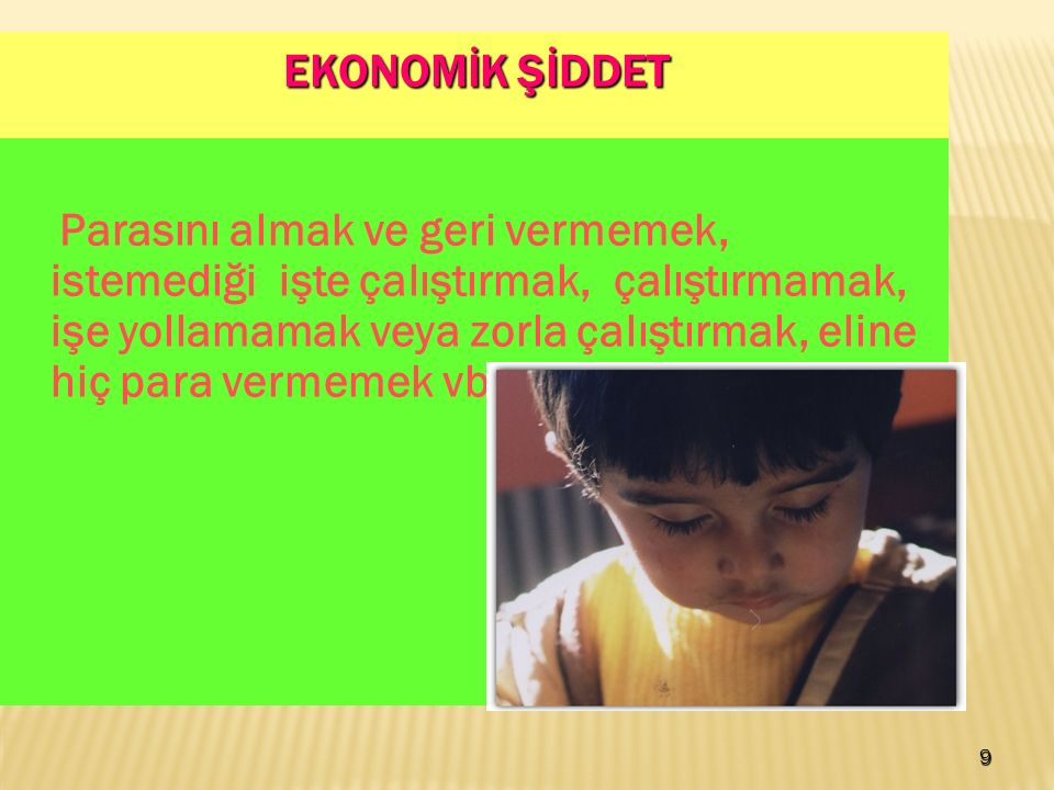 EKONOMİK ŞİDDET