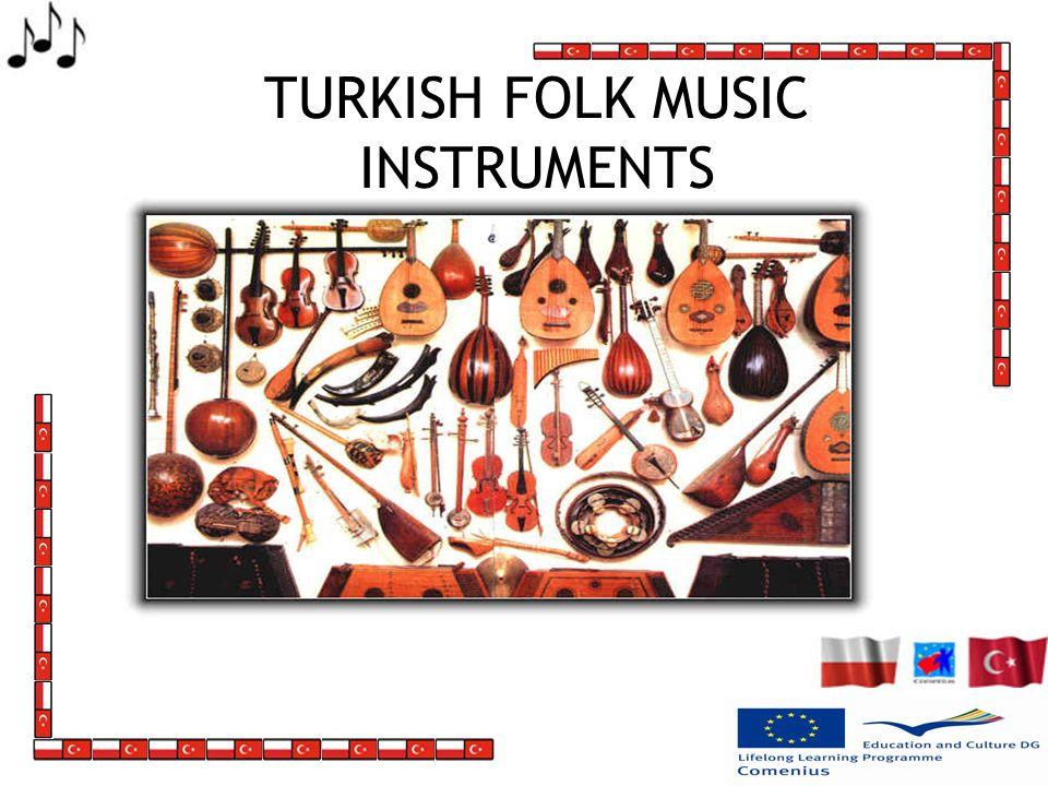 TURKISH FOLK MUSIC INSTRUMENTS