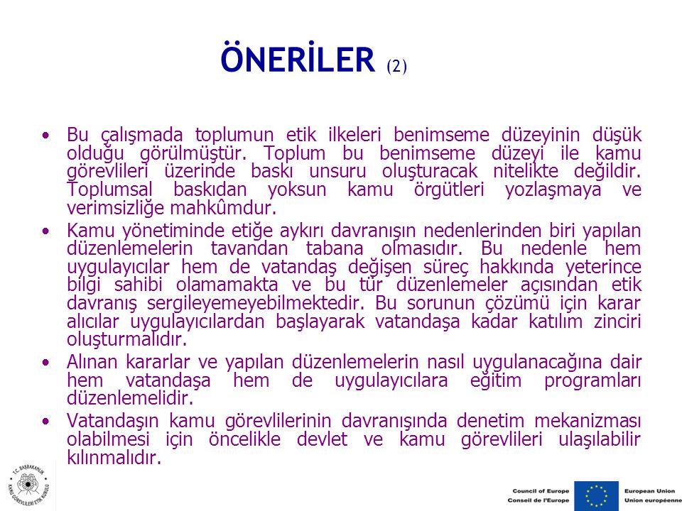 ÖNERİLER (2)