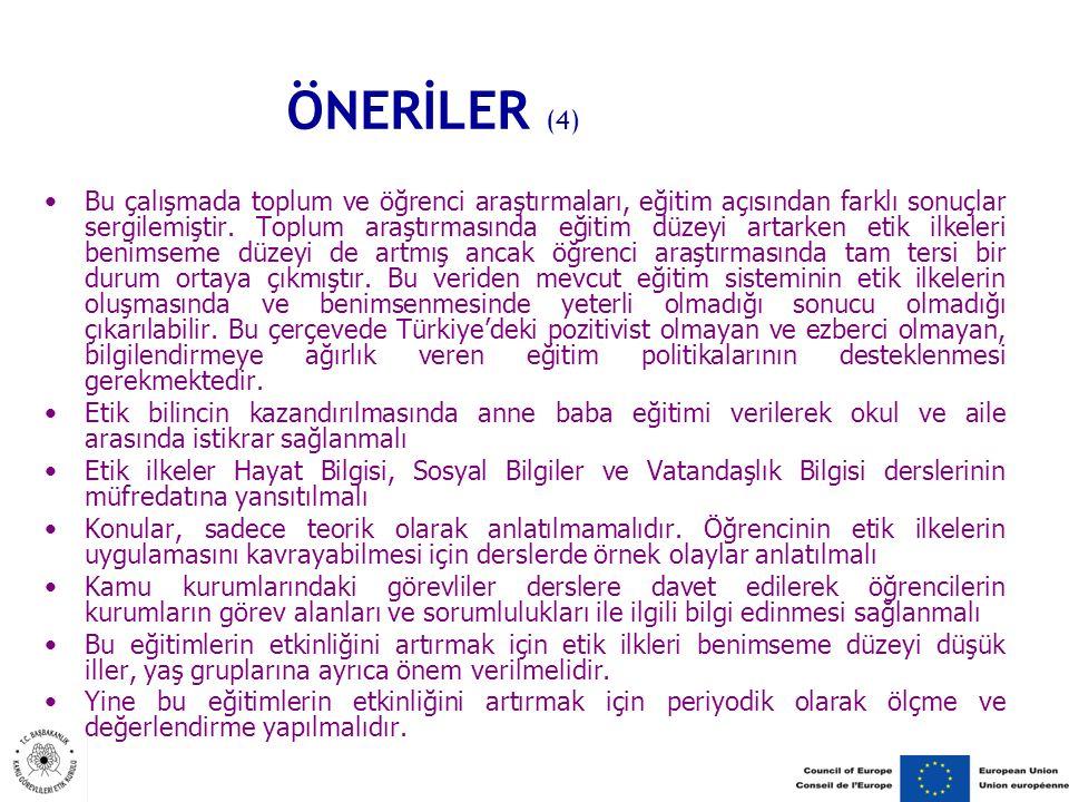 ÖNERİLER (4)